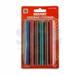 Клей 11/100мм  Цветной  (12шт/уп)  Блистер  REXANT