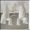 """Люстра """"рожки разн. 6"""" .. светильник потолочный CONSTANT   С0537/6  E27 6x40W Люстра потолочная"""