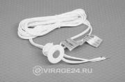Датчик касания встраиваемый(Диммируемый) SEN32, 12-24v 36/72w, Внутр.диаметр датчика 18мм, длина кабеля 100см.