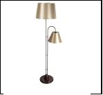 Торшер 1063/2 BR+CHAMPAGNE (2) Светильник напольный (220V 40W E27)