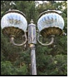 "Св.улич. столб 3.0м 2-рожк. античная бронза Светлон G1610-2 ""Парма"" светильник Светильник    220V 2*Е27  2*60W antique"