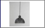 """Люстра """"рожки модерн 1"""" .. светильник потолочный 5147/1HN (10) BK E27 360*185"""
