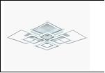 "Люстра ""LED 8"" LED-3000К/4000К/6000К светильник потолочный 6697/8LI WT LED 264W 3000/6500K 1300*1300*150  (дим)"