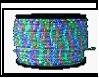 Дюралайт LED   2,0Вт мульти круг 3-х жильный 36LED/м 13мм 100м (кратность резки 2м)  до 250W мультиколор RGB (красн.,зел.,син.)