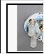 "Люстра ""фигурн.с плафон D=450"" LED-RGB светильник потолочный S7600/4+1 WT+FG Ø450 4XE27X60W+1XMR11X35W пу RBP"