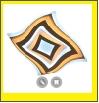 """Св. комн. """"LED D=500"""" Управляемый светодиодный светильник (потолочный) 80Вт, IP44, 180-220В, 300-7000Лм, 3000-6500К, Для помещений до 25кв.м"""