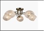 """Люстра """"рожки разн. 5"""" .. светильник потолочный 70686/5 (4) AB E27 560*230"""