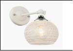 Бра 1-рожк. светильник 70691/1W (20) WT+CR E27 285*130*215 бра