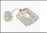 Бра 1-рожк. светильник 70695/1W (20) WT+CR E27 270*110*160 бра