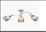"""Люстра """"рожки золото 3"""" .. светильник потолочный 70699/3 (6) WT+FGD E27 680*270*295"""