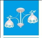"""Люстра """"рожки ретро 2"""" .. светильник потолочный 50811/2WG WG+CL"""