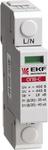 """Разрядник B3 -ограничитель напряжения ОПВ-B 3P In=30кА, Im=60кА, 400В, 3 полюса, """"ЭКФ"""" (120/1)"""