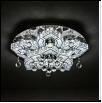 """Люстра """"LED D=600"""" .. светильник потолочный CRISTAL PALAS 5527-600 d 600mm  60W*2   Люстра потолочная LED панель, круглая,  L52 W52 H15"""