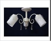 """Люстра """"рожки разн. 3"""" .. светильник потолочный 5030/3  WG (4)"""