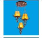"""Люстра """"модерн 3"""" .. светильник потолочный 1085B/3RG TEA"""