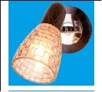 Спот 1-рожк. светильник 12681/1B CH+WENGUE TEA