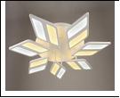"""Люстра """"LED D=420"""" светильник потолочный 5332/7Y (2) WT LED 10W 6500/3000K 870*100  с ПДУ"""