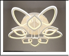 5546/10Y (2) WT LED 14/13/12W 6500/3000K 800*150 люстра с ПДУ