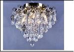 "Люстра ""хрусталь 6"" LED-3000К/4000К/6000К светильник потолочный 4773/6LE AB E14 500*435 LED  (без ПДУ)"