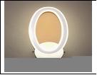 Бра 1-рожк. светильник 763/1WYT (10) WT LED 12/13W 6500/3000K 315*145*50 бра