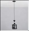 """Люстра """"ретро металл 1"""" .. светильник потолочный MIDDLE GM3593-1 BK E27  1x60W Люстра подвес"""