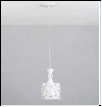 """Люстра """"ретро металл 1"""" .. светильник потолочный MIDDLE GM3593-1 WH E27  1x60W Люстра подвес"""