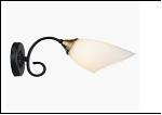 Бра 1-рожк. светильник 70623/1W (20) BK+AB E27 300*110*125 бра