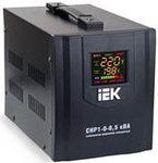 Стабилизатор релейный  8 000ВА (6.4кВт) ИЭК раб. вх. 140В - 270В (140в-50% мощности) напряжения  CHP1-0-8 кВа (элект.переносной)