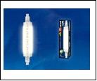 ЛСД R7s Цил  12,0Вт 3000K 220В . UNIEL LED-J118-//R7s/CL PLZ06WH  Прозрачная Теплый белый свет Картон ТМ , шк 4690485088417