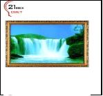 "700DB-05 (5) Картина в багете с подсветкой, ""Водопад"" (39х69см)"