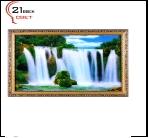 "700DB-830/59 (5) Картина в багете с подсветкой, ""Водопад"" (39х69см)"
