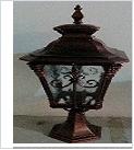 Св.улич. подстав. черн. золото LAMPADA ... YF8047S1(M) светильник Светильник