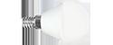 ЛСД Е14 Шар   7Вт 3000K 220В R45 матовая QEEPS лампа светодиодная (1/10/50)