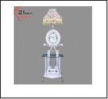 Торшер  LED выносн. светильник 9858 (1)  напольный Светильник бытовой напольный  ( -  стеклянный столик, 220W 15W E27)