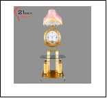 Торшер ЛОН выносн. светильник 9866 Светильник бытовой напольный  ( -  стеклянный столик, на 3 ламп. 220W 15W E27)