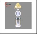 Торшер  LED выносн. светильник 9883 Светильник бытовой напольный  ( -  стеклянный столик, на 3 ламп. 220W 15W E27)
