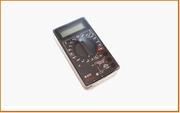 Мультиметр цифровой M833 (генерат частоты 1000Гц)+звук