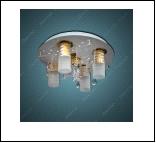 """Люстра """"фигурн.с плафон D=450"""" LED-White светильник потолочный 90098/450/5 (1) Светильник бытовой потолочный со светодиодами, дистанционным пультом  ("""