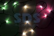 "Гирлянда ""Твинкл Лайт"" 4 м, 25 диодов, цвет мультиколор, 8 режимов, IP20 Neon-Night (1/1/100)"