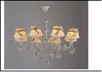 """Люстра """"рожки ретро 8"""" .. светильник потолочный 3009/8N (2) WT E14 770*860"""