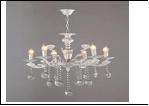 """Люстра """"рожки ретро 8"""" .. светильник потолочный 3076/8N WT E14 685*865"""