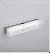 Св. комн. LED линейн.   6,0Вт бел. 6500K IP20 MIROR . 330х70mm светильник 350x70mm светильник MIROR BF869-2     настенный 33см