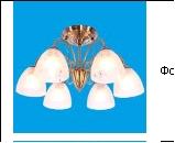 """Люстра """"рожки классик 6"""" .. светильник потолочный 2618/6AB WT"""
