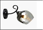 Бра 1-рожк. светильник 78741/1W (20) BK+CR E27 260*130*170 бра