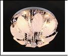 """Люстра """"зеркальная 4"""" LED-RGB светильник потолочный 532/4Y CR 4*22 E14 RBP  с ПДУ"""