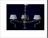 """Люстра """"ретро абажур 3"""" .. светильник потолочный 6137/3 CR (4)"""