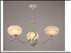 """Люстра """"рожки разн. 3"""" .. светильник потолочный 7338/3C (6) WG E27 560*565"""