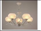 """Люстра """"рожки разн. 5"""" .. светильник потолочный 7338/5C (4) WG E27 560*565"""