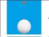 """Люстра """"модерн D=320"""" .. светильник потолочный G51115/1S CR WT Подвесной светильник Gerhort (Германия)"""