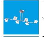 """Люстра Хай-Тек 6"""" .. светильник потолочный 23351/6CR+BK CL Потолочные споты"""